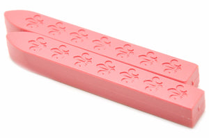 Pink Non-Wick Fleur Sealing Wax Stick - Sealing Wax - Backtozero