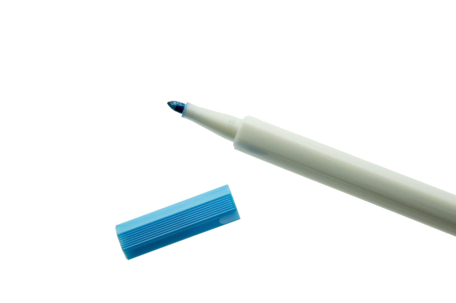 Metallic Blue Highlight Pen - Pen - Backtozero