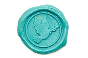 Dove Wax Seal Stamp | Available in 4 Sizes - Wax Seal Stamp - Backtozero