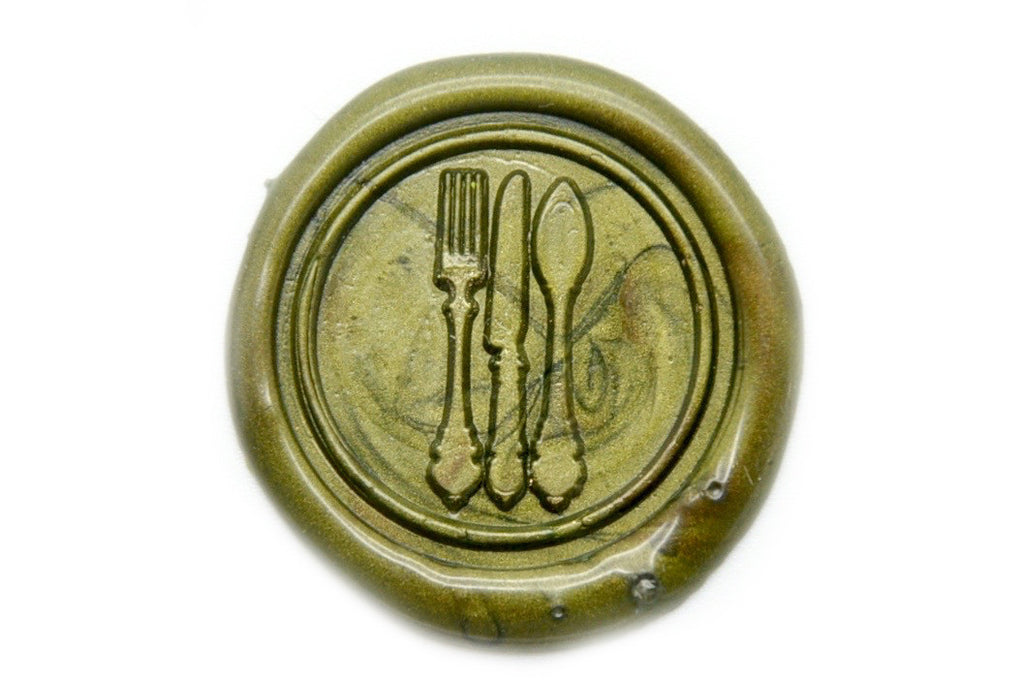 Bon Appetit Wax Seal Stamp, Backtozero  - 2