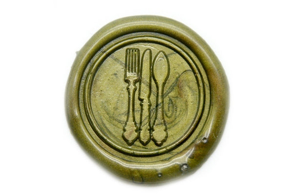 Bon Appetit Wax Seal Stamp, Backtozero  - 1