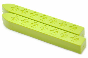 Pastel Green Non-Wick Fleur Sealing Wax Stick - Sealing Wax - Backtozero