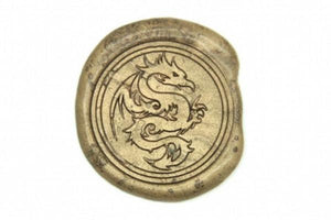 Dragon Wax Seal Stamp - Wax Seal Stamp - Backtozero