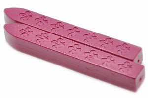Rose Red Non-Wick Fleur Sealing Wax Stick - Sealing Wax - Backtozero