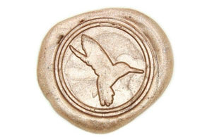 Hummingbird Wax Seal Stamp - Wax Seal Stamp - Backtozero