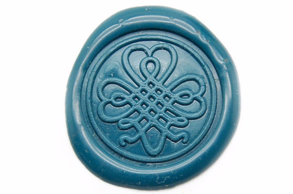 Shamrock Clover Wax Seal Stamp | Available in 4 Sizes, Backtozero  - 1