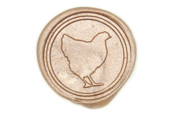 Hen Wax Seal Stamp - Wax Seal Stamp - Backtozero