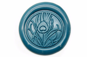 Peacock Feather Wax Seal Stamp, Backtozero  - 2