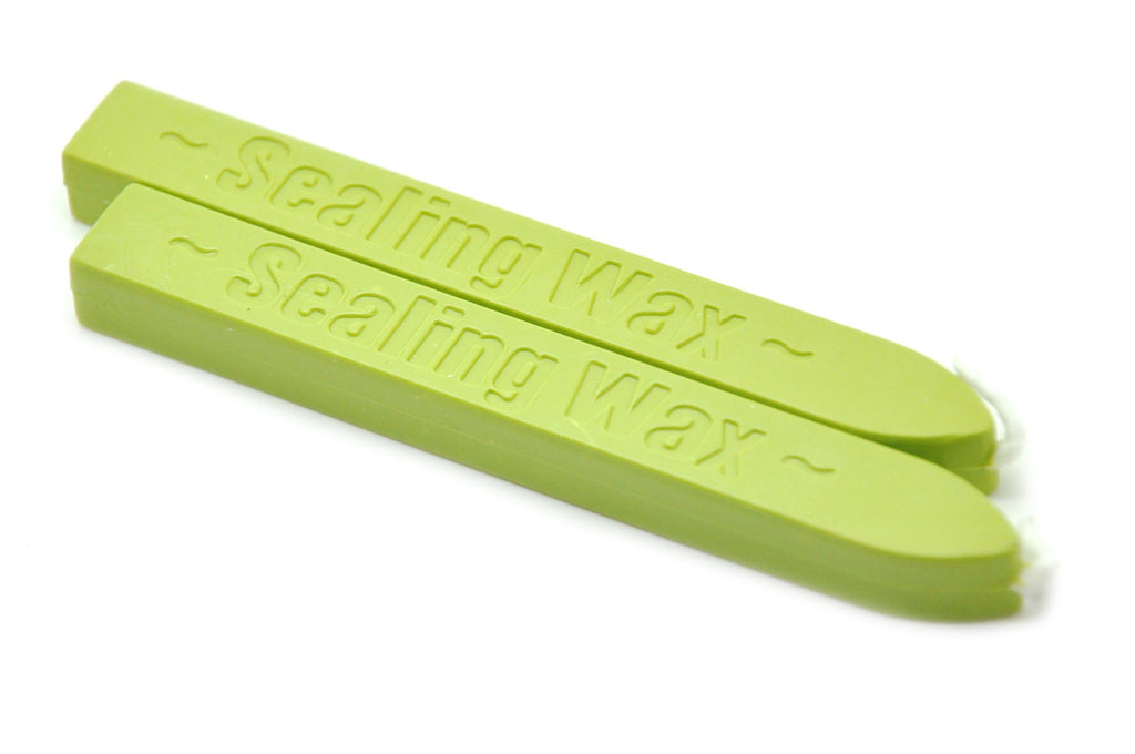 Pastel Green Wick Sealing Wax Stick - Sealing Wax - Backtozero