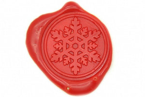 Snowflake Wax Seal Stamp - Backtozero