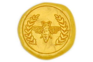 Bee Wreath Wax Seal Stamp - Wax Seal Stamp - Backtozero
