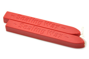 Red Wick Sealing Wax Stick - Sealing Wax - Backtozero