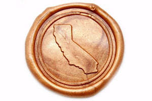 Home State Wax Seal Stamp | Available in 4 Sizes - Backtozero
