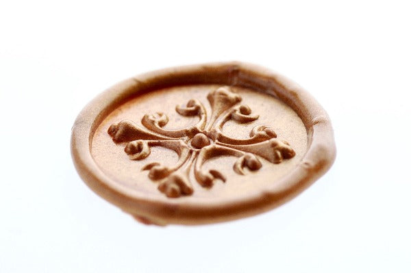 3D Cross Wax Seal Stamp - Wax Seal Stamp - Backtozero