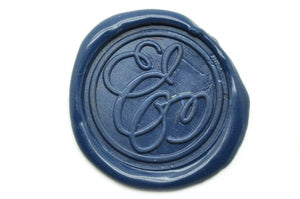 Suzanne Cunningham Calligraphy E Wax Seal Stamp | Available in 4 Sizes - Wax Seal Stamp - Backtozero