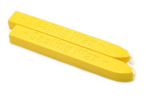 Yellow Wick Sealing Wax Stick - Sealing Wax - Backtozero