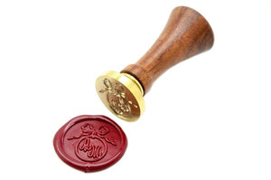 Ribbon Ring Double Initials Wax Seal Stamp, Backtozero  - 4