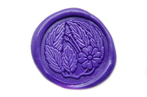 Sakura Wax Seal Stamp, Backtozero  - 1