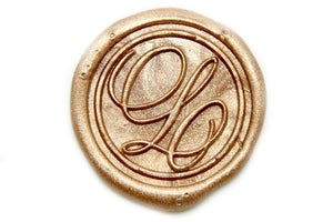 Suzanne Cunningham Calligraphy L Wax Seal Stamp | Available in 4 Sizes - Wax Seal Stamp - Backtozero