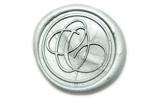 Suzanne Cunningham Calligraphy O Wax Seal Stamp | Available in 4 Sizes - Wax Seal Stamp - Backtozero