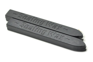 Black Wick Sealing Wax Stick - Sealing Wax - Backtozero