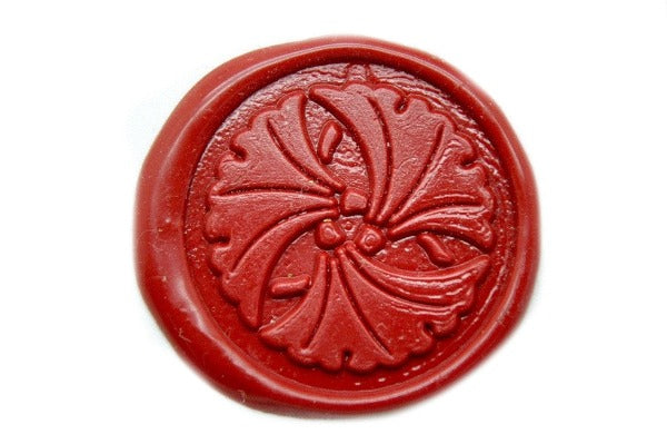 japanese kamon incho ginkgo leaf wax seal stamp