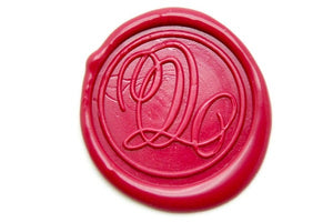 Suzanne Cunningham Calligraphy Q Wax Seal Stamp | Available in 4 Sizes - Wax Seal Stamp - Backtozero