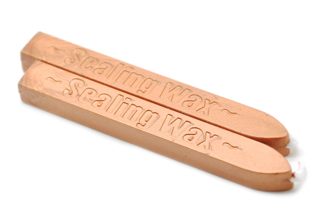 Copper Gold Wick Sealing Wax Stick - Sealing Wax - Backtozero