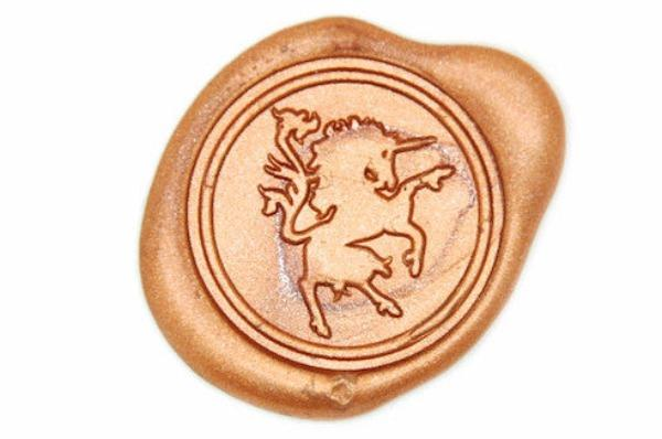Unicorn Wax Seal Stamp, Backtozero  - 1