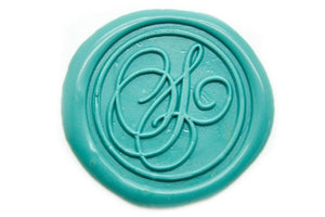 Suzanne Cunningham Calligraphy S Wax Seal Stamp | Available in 4 Sizes - Wax Seal Stamp - Backtozero