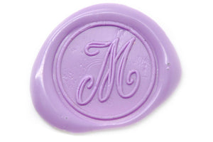 Calligraphy Initial Wax Seal Stamp - Wax Seal Stamp - Backtozero