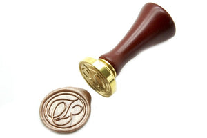 Suzanne Cunningham Calligraphy T Wax Seal Stamp | Available in 4 Sizes - Backtozero