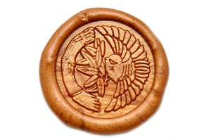 Sparrow Wax Seal Stamp, Backtozero  - 1