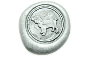 Spaniel Wax Seal Stamp | Available in 4 Sizes - Backtozero