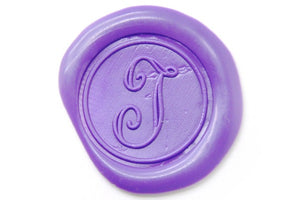 Calligraphy Initial Wax Seal Stamp - Backtozero