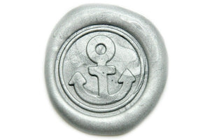 Anchor Wax Seal Stamp | Available in 4 Sizes - Wax Seal Stamp - Backtozero