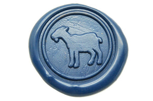 Goat Wax Seal Stamp, Backtozero  - 2