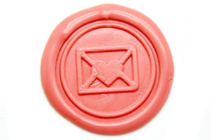 Love Letter Wax Seal Stamp | Available in 4 Sizes, Backtozero  - 1