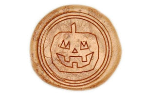 Jack'o'Pumpkin Wax Seal Stamp - Wax Seal Stamp - Backtozero