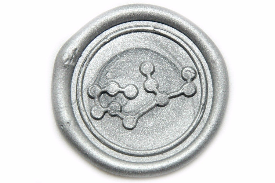Constellation Virgo Wax Seal Stamp, Backtozero  - 2