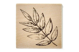 Botanical Rubber Stamp | O - Rubber Stamp - Backtozero