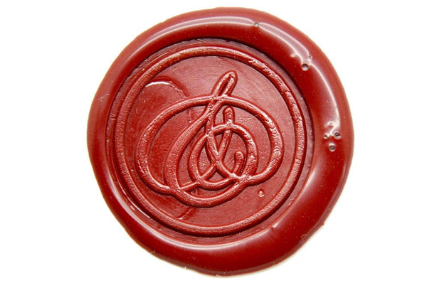 Amerpsand Wax Seal Stamp, Backtozero  - 1