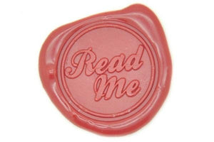 Read Me Wax Seal Stamp - Wax Seal Stamp - Backtozero