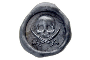 3D Skull Sword Wax Seal Stamp - Wax Seal Stamp - Backtozero