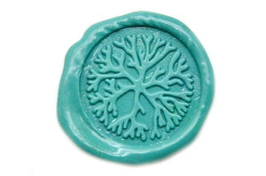 Coral Wax Seal Stamp | Available in 4 Sizes - Wax Seal Stamp - Backtozero