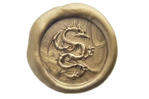 3D Dragon Wax Seal Stamp - Wax Seal Stamp - Backtozero