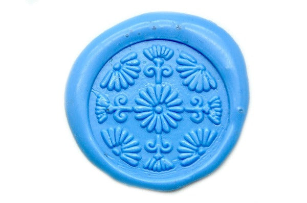 Japanese Ball Deco Wax Seal Stamp, Backtozero  - 1