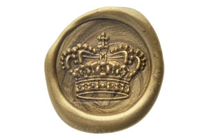 3D Royal Crown Wax Seal Stamp - Wax Seal Stamp - Backtozero