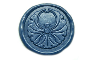 Ginkgo Deco Wax Seal Stamp, Backtozero  - 1