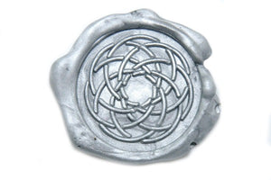 Linked Rings Wax Seal Stamp, Backtozero  - 1